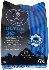 Annamaet 32% Ultra Dog Food - 20 lb