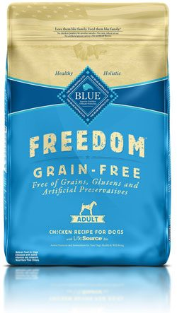 Blue Buffalo Freedom Grain-Free Beef Dry Recipe for Dog, Adult