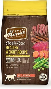 Merrick Grain Free Healthy Weight Recipe