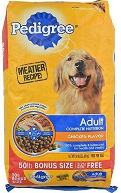 Pedigree Adult Complete Nutrition Dry Dog Food