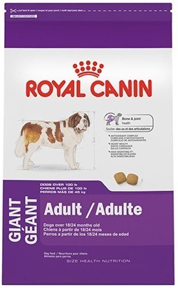 ROYAL CANIN SIZE HEALTH NUTRITION GIANT Adult dry dog food, 35-Pound