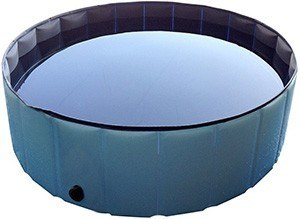 PETFLY Pet Bathtub, Inflatable Dog Bathtub Tub Swimming
