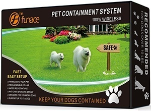 100% Wireless Pet Containment System - Safe & Easy Install WiFi Radio Dog Fence - No Wire