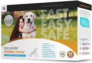 Hidden Dog Fence - Safe & Unseen Pet Containment System - In-Ground or Above Ground Installation