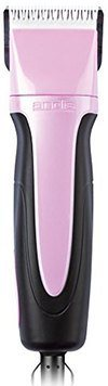 Andis EasyClip Pro-Animal 5-Speed Detachable Blade Clipper Kit in Frustration Free Packaging, Pink, SMC (65425)