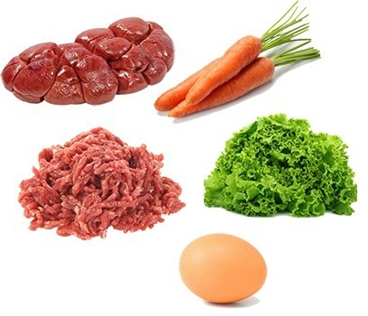 raw dog food recipe max beef