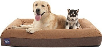 Laifug Orthopedic Memory Foam Large Dog Bed,Durable Water Proof Liner, Removable Washable Cover