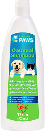 Oatmeal Shampoo for Dogs and Cats with Shea Butter, Aloe Vera, Chamomile