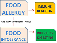 Intolerance vs. Allergy