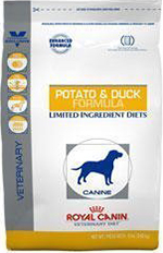 Royal Canin Veterinary Diet Canine Hypoallergenic Potato & Duck Dry Dog Food 7.7 lb bag by Royal Canin USA, Inc