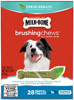 Milk-Bone Brushing Chews Daily Dental Dog Treats