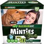 Minties VetIQ Dental Dog Treats