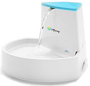 isYoung Dog Fountain Pet Fountain Automatic Water Dispenser for Dogs and Cats, Healthy and Hygienic Dog Fountain