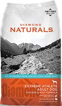 Diamond Naturals Extreme Athlete Real Meat Recipe High Protein Dry Dog Food With Real Cage Free Chicken Protein