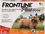 Frontline Plus for Dogs Small Dog (5-22 pounds)