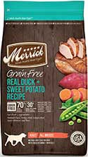 Merrick Grain Free Dry Dog Food Real Duck & Sweet Potato
