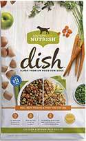 Rachael Ray Nutrish Dish Natural Dry Dog Food, Chicken & Brown Rice Recipe With Veggies & Fruit