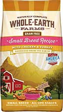 Whole Earth Farms Grain-Free Small Breed Dry Dog Food
