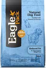 Eagle Pack Natural Dry Dog Food Pork, Chicken & Fish Reduced Fat