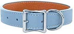 Luxury Italian Leather Tuscany Dog Collar