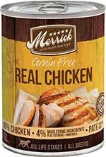 Merrick Grain-Free Real Chicken Canned Dog Food