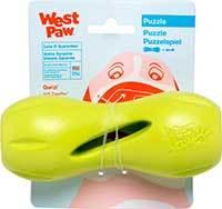 West Paw Qwizl Dog Toy, Granny Smith Green