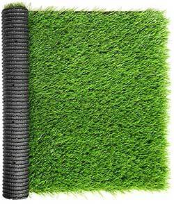 WMG GRASS Premium Artificial Grass, Drainage Mat, 3.3' x 5' Artificial Turf for Dogs, Cats, Pets, Turf Realistic Indoor/Outdoor for Garden, Patio (16.5 sq ft)