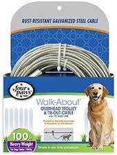 Four Paws Heavy Weight Overhead Trolley Exerciser