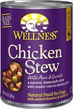 Wellness Chicken Stew with Peas & Carrots Grain-Free Canned Dog Food