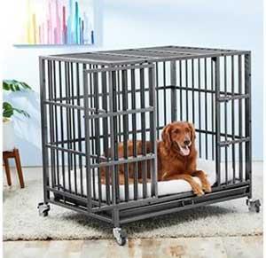 Frisco Ultimate Heavy Duty Steel Metal Single Door Dog Crate