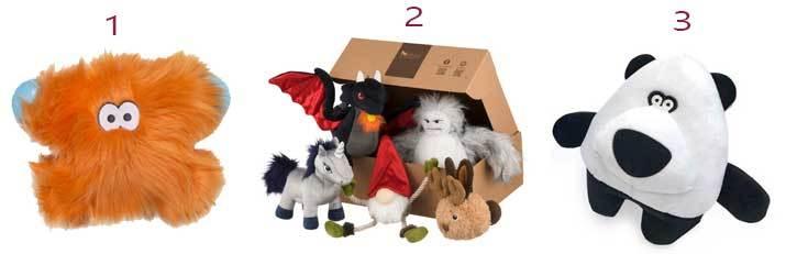 eco friendly plush dog toys
