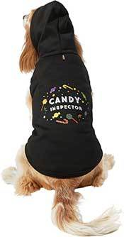 Frisco Candy Inspector Dog & Cat Hoodie, Large