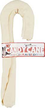 Pure & Simple Pet Rawhide Candy Cane Dog Treat