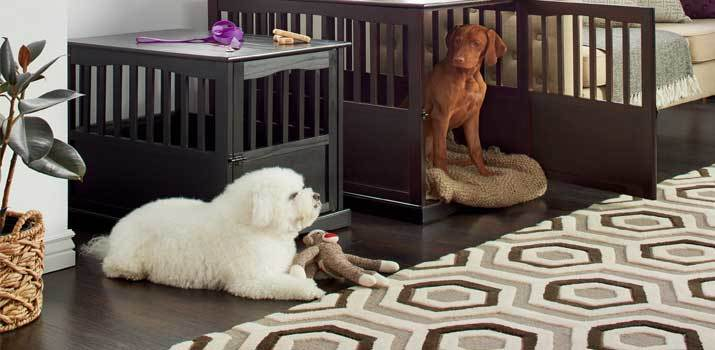 Luxury dog kennels and crates