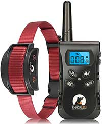 Paipaitek No Shock Dog Training Collar, Rechargeable & Waterproof No Shock Dog Collar with Remote, Up to 1600Ft Remote Range
