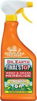 Dr. Earth Final Stop Weed & Grass Killer, 24-oz bottle
