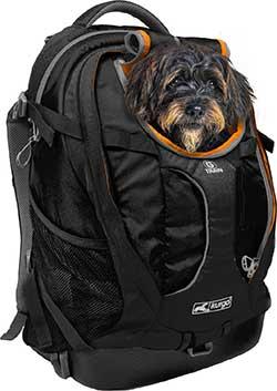 Kurgo G-Train Airline-Approved Dog Carrier Backpack , Black