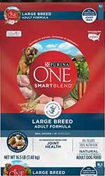 Purina ONE SmartBlend Large Breed Adult Formula Dry Dog Food