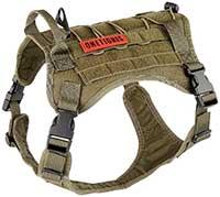 OneTigris Tactical Vest Nylon Front Clip Dog Harness