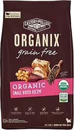 Castor & Pollux ORGANIX Organic Small Breed Recipe Grain-Free Dry Dog Food